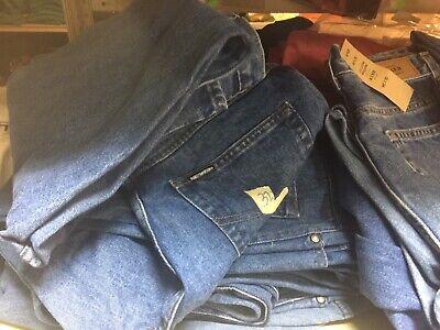 Harley Davidson Halloween (Harley-Davidson scarecrow denim jeans factory seconds Random size Halloween)