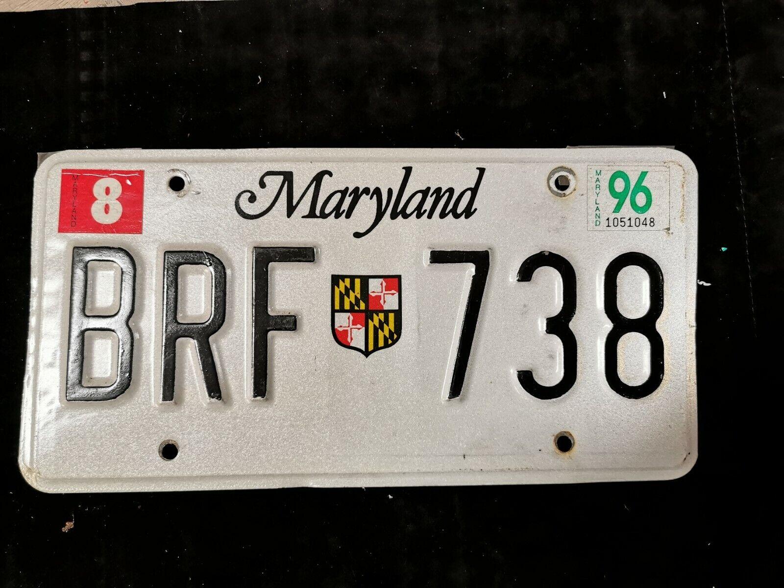US Kennzeichen Nummernschild License Plate Maryland