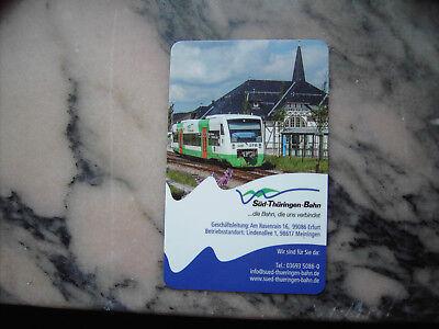 Taschenkalender Süd-Thüringen-Bahn 2017