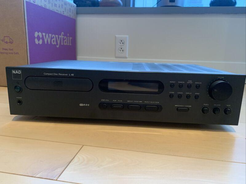 NAD Compact Disc Receiver L40