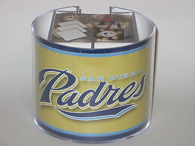 (San Diego Padres Team Logo Desk Caddy with 750 Sheet Note Pad)