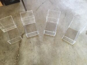 4 Clear Organizers/Different Projects
