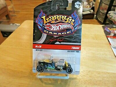 Hot Wheels Larry's Garage T-BUCKET Initialed CHASE Car MOC