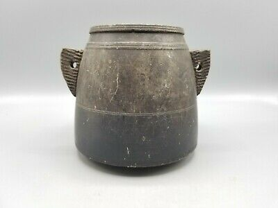 HELLENISTIC STONE UNGUENT JAR CA 3RD-1ST CENT BCE
