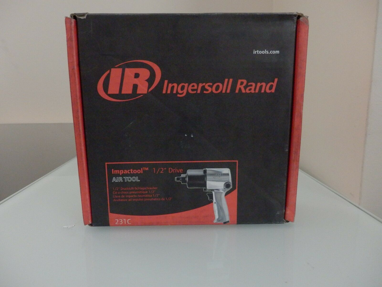 ingersoll rand impact wrench manual