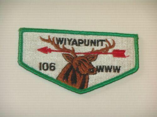 OA lodge 106 Wiyapunit S1