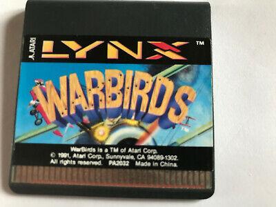 Warbirds / Cart Only / Atari Lynx Game