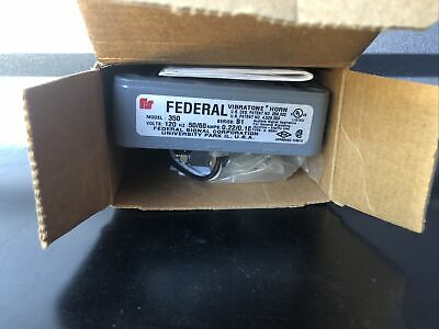 New Federal Signal 350 Vibratone Horn Series B-1 Nib