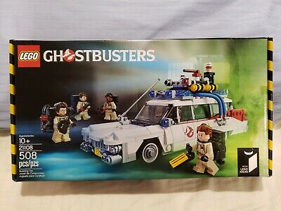 🔥 LEGO GHOSTBUSTERS ECTO-1 👻 NIB FACTORY SEALED  RETIRED 21108 🔥 ACTUAL ITEM