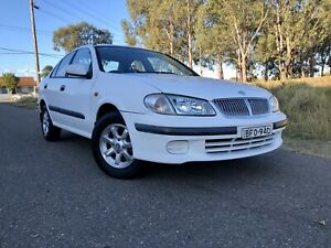 2001 Nissan Pulsar N16 ST 4 Speed Automatic Sedan 6months Rego Low Kms