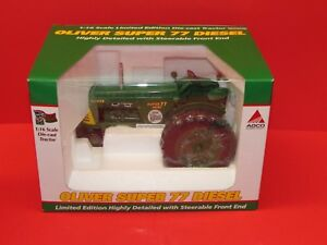 OLIVER Super 77 diesel - 2008 National show tractor, limited edition 1/16 scale