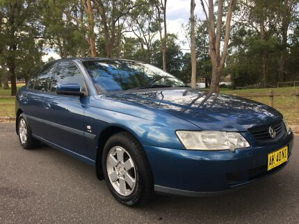 2003 Holden Commodore VY Acclaim 6Months Rego  Blue