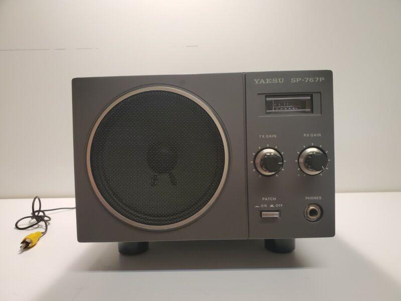 Yaesu SP-767P External Speaker/ Untested/ Fast Shipping
