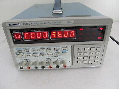 Tektronix Ps2520g Programmable Power Supply Dual 0-36v1.5a Single 6v3a