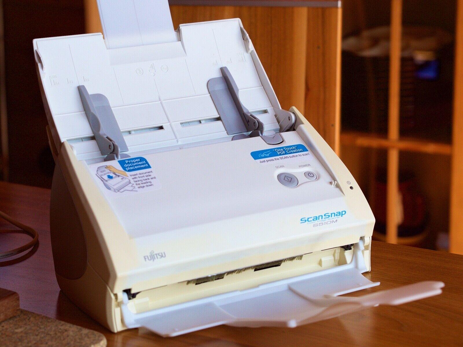 Fujitsu ScanSnap S510M Dokumentenscanner A4 duplex