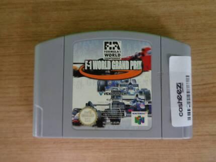 Nintendo 64 Game Cartridge - F-1 World Grand Prix