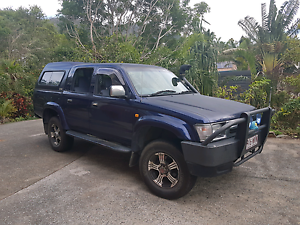 1998 Toyota Hilux diesel dual cab 4x4 Airlie Beach Whitsundays Area Preview