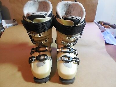 (Garmont ASYLUM FR120 Women's Alpine ski boots w/Alpine Touring sole size 23.5)
