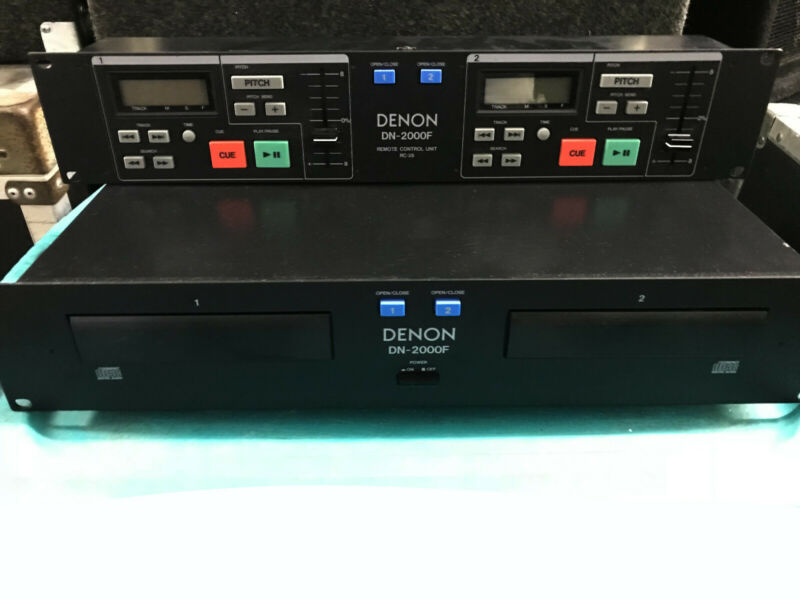 Denon DN2000F MKII Dual CD PLAYER W/RC35 REMOTE