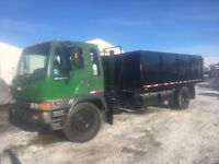HINO WITH 20ft DUMP WORKGREAT hydraulic brakes Calgary Alberta Preview