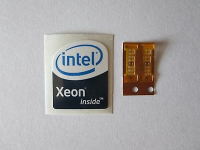 2 LGA 771 to 775 Adapters for Xeon Mod with one 'Intel Xeon Inside' sticker