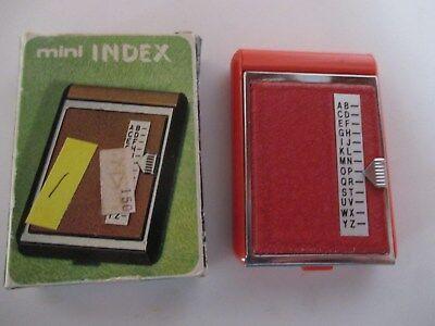 - Vintage Mini Phone Address Index Hong Kong