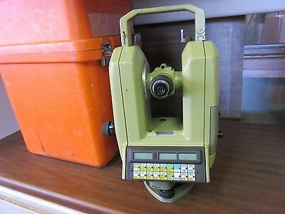 Leica Heerbrugg Total Station Survey Theomat Theodite Survey Bad Vertical Lock