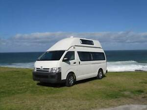 5 Person 2006 Toyota Hiace Hitop campervan Botany Botany Bay Area Preview