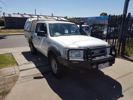 2008 Ford Ranger Duel Cab Tray Ute AUTO TURBO DIESEL 4x4 Williamstown North Hobsons Bay Area Preview