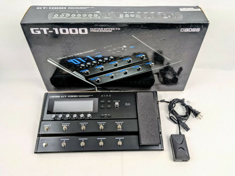 🔥 Boss GT-1000 🔥 Guitar Effects Processor GT1000 Pedal Pedalboard IN BOX MINT