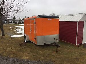 2009 Pace American enclosed trailer