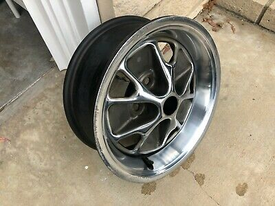 1965 1966 FORD Mustang ORIGINAL STEEL STYLE RALLY WHEEL - used - PICKUP ONLY