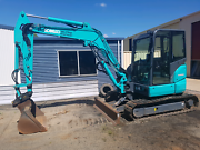 Excavator and plant trailer Kingaroy South Burnett Area Preview