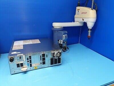Denso 4-axis Scara Robot Hs-45553egm Rc7m-hsg4ba-bp Controller Used Good