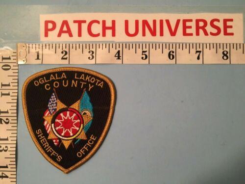 OGLALA LAKOTA COUNTY SD SHERIFF OFFICE   SHOULDER PATCH   I035