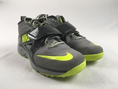 Nike Huarache Turf Lacrosse - Gray Cleats (Men's 8) - Used for sale  Shipping to Canada