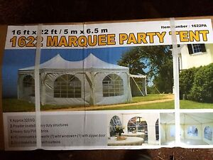16 X 22 marquee party tent