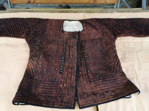 OLD ANTIQUE PRIMITIVE WOMENs HAND MADE VEST COAT WOOL OTTOMAN EMPIRE