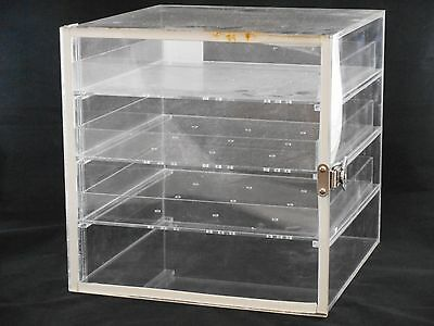 Lab Acrylic Desiccator Cabinet Dry Box W 3 Removable Shelves 12 X 12 X 12