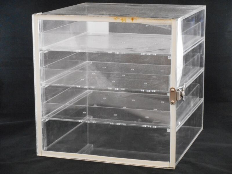 """Lab Acrylic Desiccator Cabinet Dry Box w/ 3 Removable Shelves 12 x 12 x 12"""""""