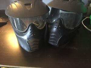 2 Extreme Rage paintball masks all for $20