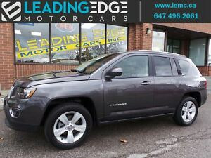 2016 Jeep Compass Sport/North High Altitude, Leather, AWD