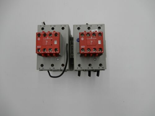 ALLEN BRADLEY 100S-C60A14BC SERIES B SAFETY CONTACTOR LOT OF 2 STOCK 713