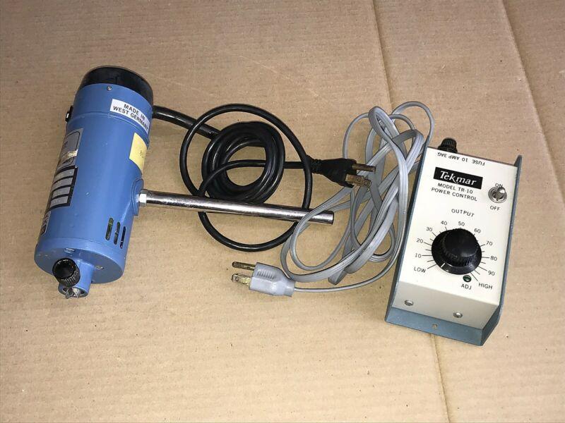 Tekmar Tissumizer SDT-1810 Homogenizer 20000rpm with TR-10 Speed Control Unit
