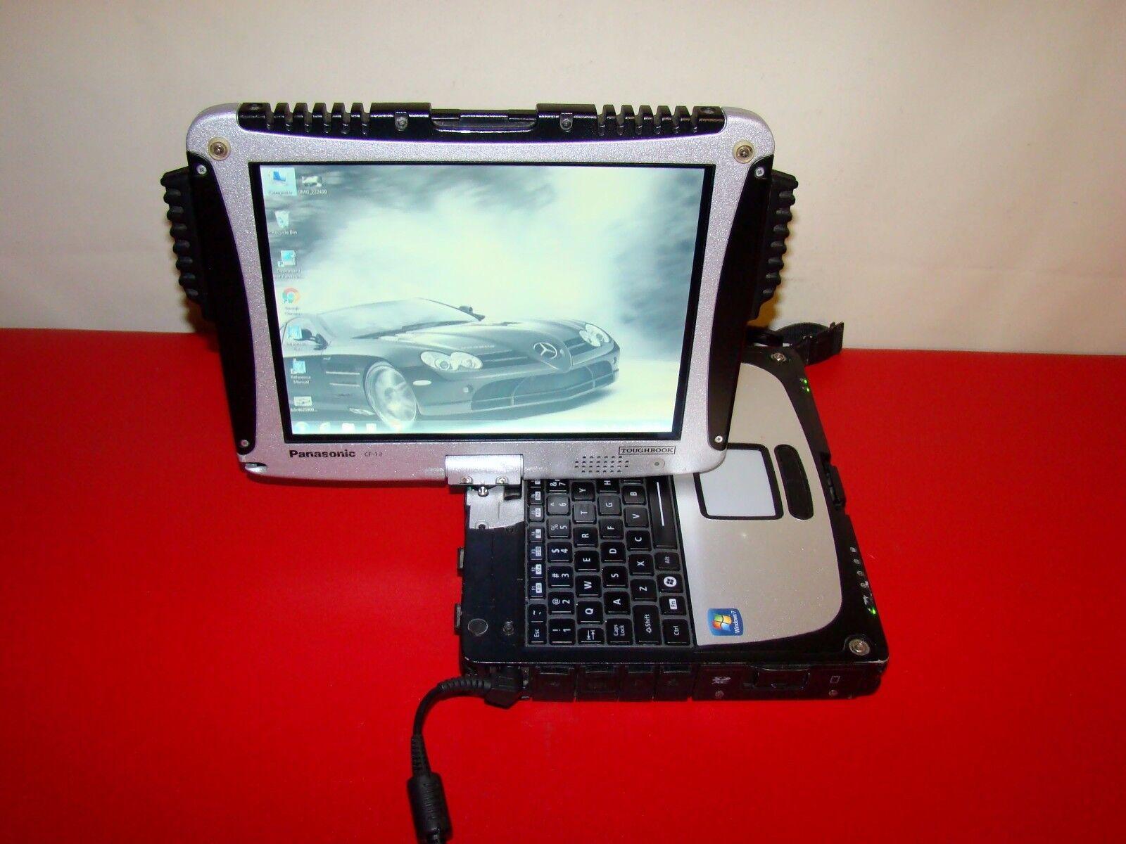 PANASONIC TOUGHBOOK CF-19 MK6 Core i5 2.60GHz SSD 240GB 8GB TouchScreen Actual P