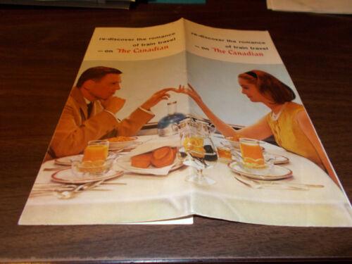 1965 Canadian Pacific Railroad Travel Brochure
