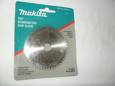 Makita 3-38 Combination Circular Saw Blade For Cordless Saws Nos - 721003-8