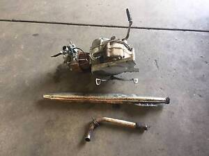HONDA C 50 1970 ENGINE AND EXHAUST St Agnes Tea Tree Gully Area Preview