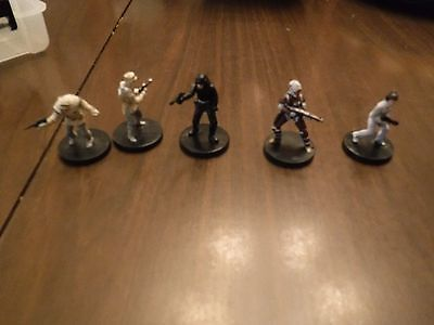Star Wars mini   painted  for assault on imperials,Leia hoth trooper Dengar