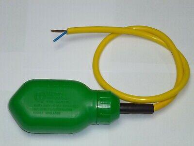Sicher Schwimmerschalter Wasserdicht Tauchpumpe Wechselschalter mit 5m Kabel NEU